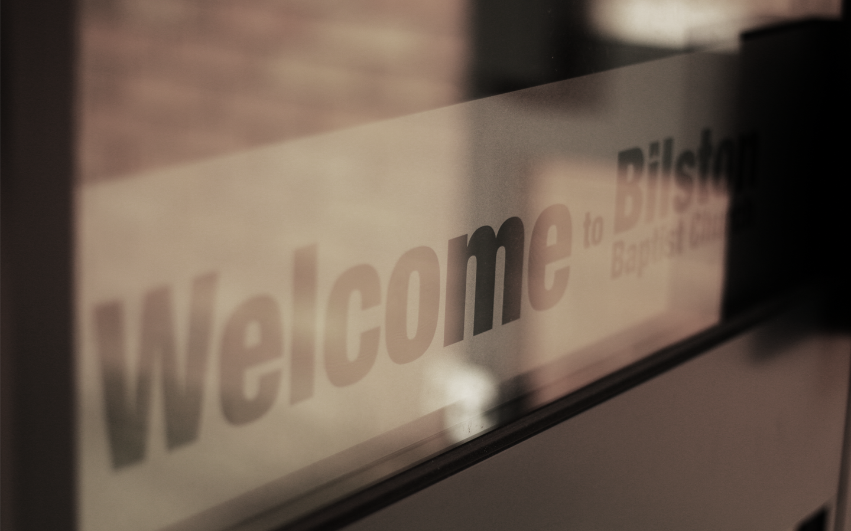 Bilston Baptist Welcome Logo