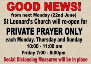 St Leonards opening